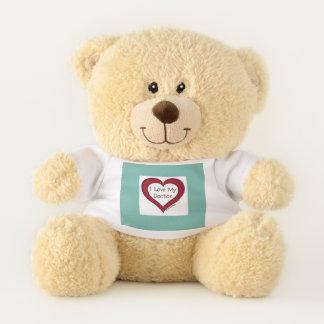 Love My Doctor Heart2 Teddy Bear