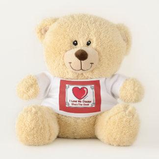 Love My Doctor-She's the Best Teddy Bear