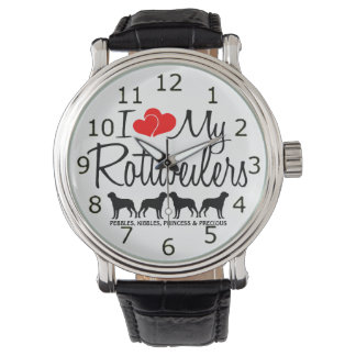 Love My Four Rottweilers Watch