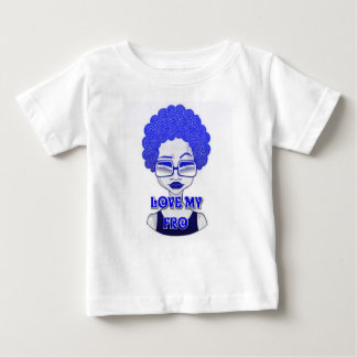Love My Fro Baby Fine Jersey T-Shirt