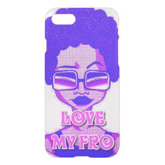 Love My Fro iPhone 7 Clearly™ Case