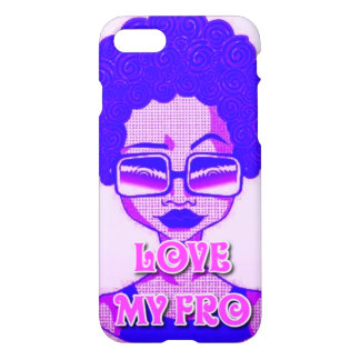 Love My Fro iPhone 8/7 Glossy Case