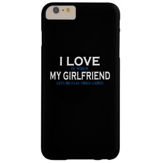 Love my girlfriend barely there iPhone 6 plus case