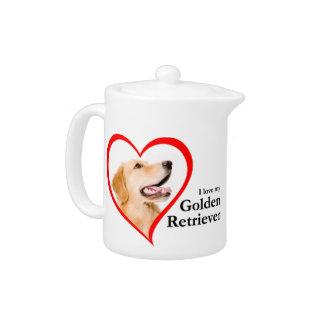 Love My Golden Teapot