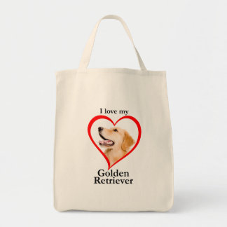 Love My Golden Tote