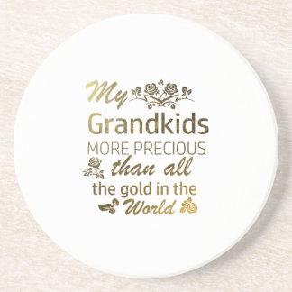 Love my Grandkid designs Coaster