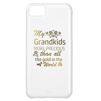 Love my Grandkid designs Cover For iPhone 5C