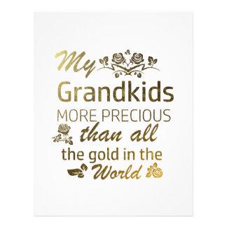 Love my Grandkid designs Letterhead
