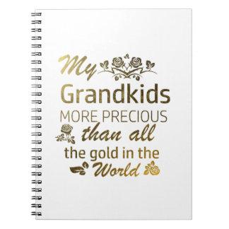 Love my Grandkid designs Note Book