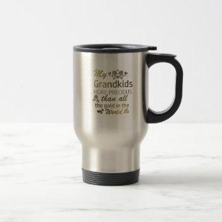 Love my Grandkid designs Travel Mug
