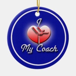 Love My Gymnastics Coach Ornament