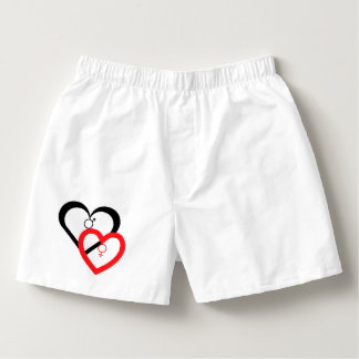 """Love My Heart"" Series Boxers for Men #6"