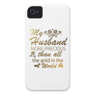 Love my Husband designs iPhone 4 Case-Mate Case