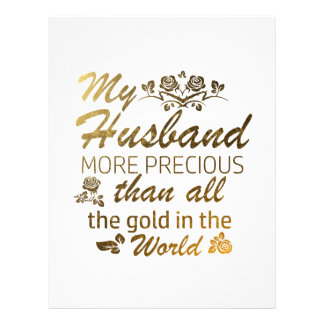 Love my Husband designs Letterhead