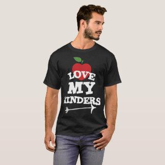 Love My Kinders Cute Kindergarten Teacher T-Shirt