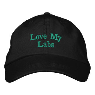 Love My Labs designer cap
