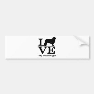 Love my Leonberger Bumper Sticker