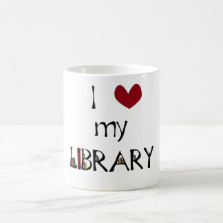 Love My Library Coffee Mug