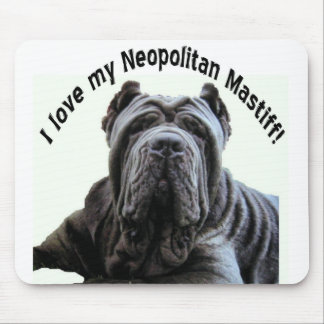 love my Neopolitan Mastiff mousepad