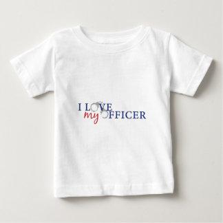 love my officercuffs baby T-Shirt