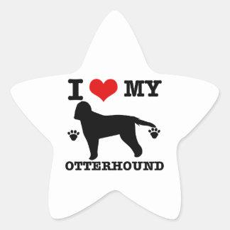 Love my otterhound star sticker