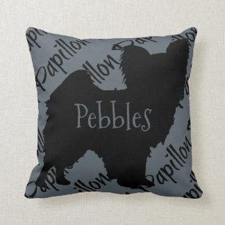 Love My Papillon Dog Pillow