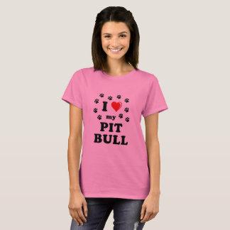 Love My Pittbull T-Shirt