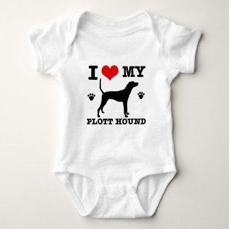 Love my plott hound baby bodysuit