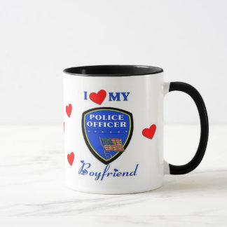 Love My Police Boyfriend Mug