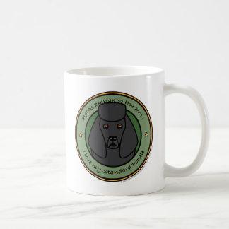 Love My Poodle Classic White Coffee Mug