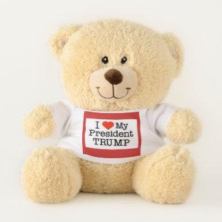 Love My President Trump Teddy Bear