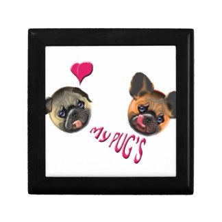 love my pugs gift box