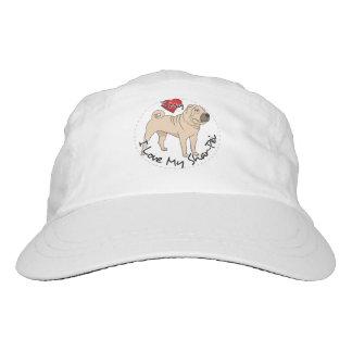 Love My Shar Pei Hat