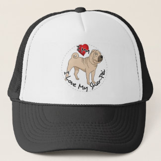 Love My Shar Pei Trucker Hat