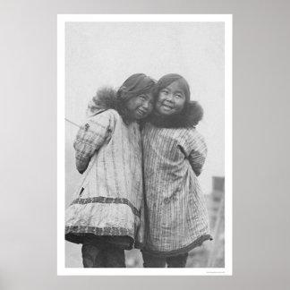 Love My Sister Eskimo 1908 Poster