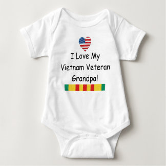 Love My Vietnam Veteran Grandpa Bodysuit