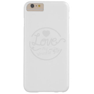 Love My Wrestle Wrestling Barely There iPhone 6 Plus Case