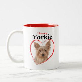 Love My Yorkie Mug