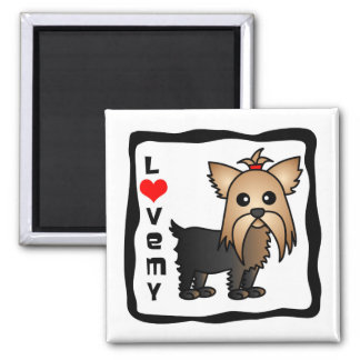 Love My Yorkshire Terrier Magnet