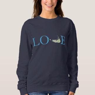Love Nantucket sweatshirt for women