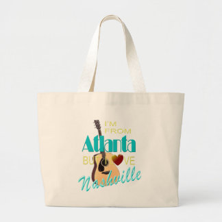 Love Nashville from Atlanta Jumbo Tote