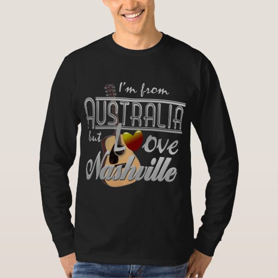 Love Nashville from Australia Long Sleeve T-Shirt