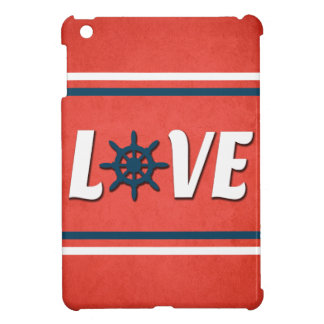Love nautical design case for the iPad mini