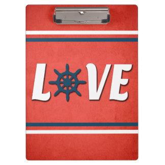 Love nautical design clipboard