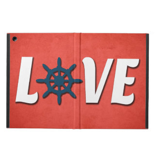 Love nautical design cover for iPad air