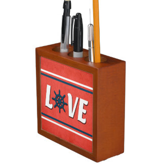 Love nautical design desk organizer