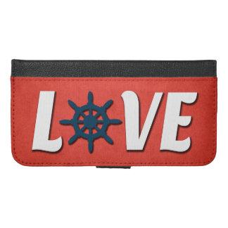 Love nautical design iPhone 6/6s plus wallet case