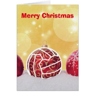 Love Netball Themed Christmas Greeting Card