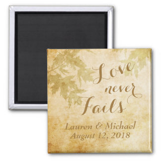 Love Never Fails Nature Magnet