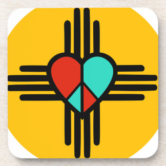 Love, New Mexico, Peace Drink Coasters